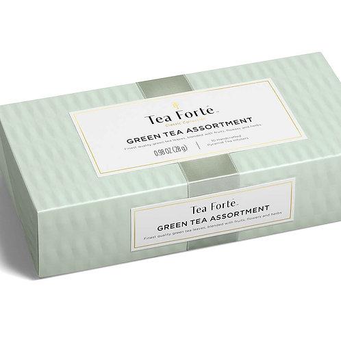 GREEN TEA ASSORTMENT 10 COUNT