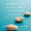 Thumbnail: Meditation Is Not What You Think: Mindfulness and Why It Is So Important