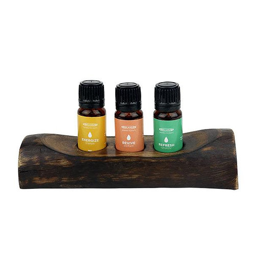ENERGY Gift Set Essential Oils 3pc 10ml