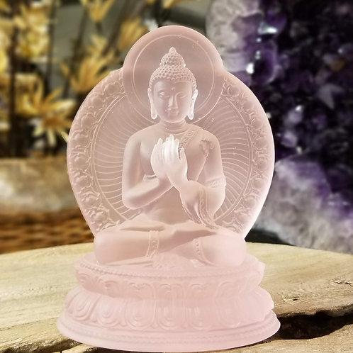 Acrylic Pink Buddha