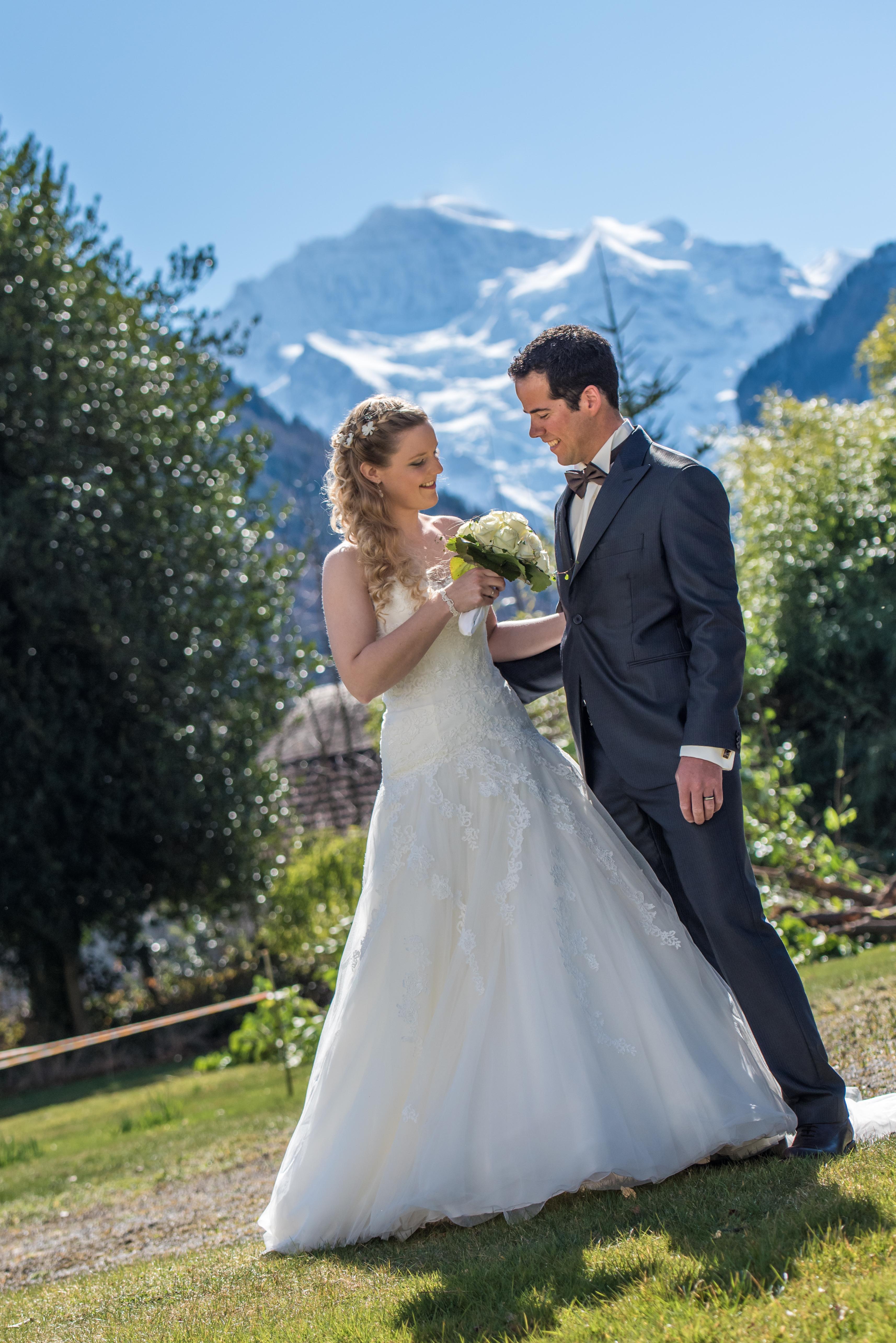 Hochzeit Jungfraujoch Berghochzeit