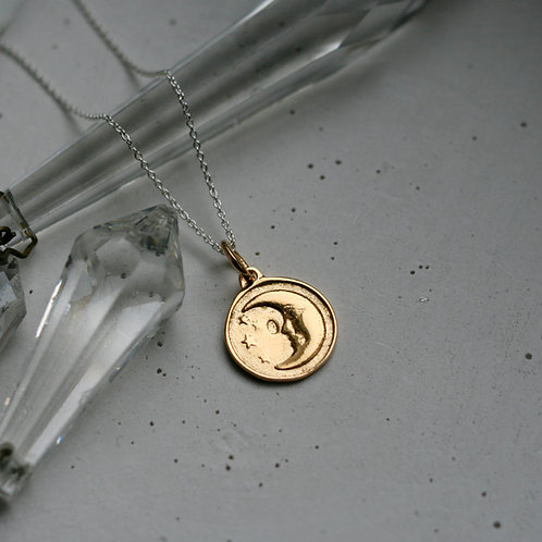 MOON & SUN -two faced necklaces