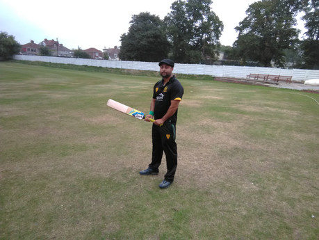 Success for Shezad in Staffs Wolves VI game