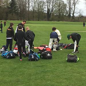 First Junior training of the season
