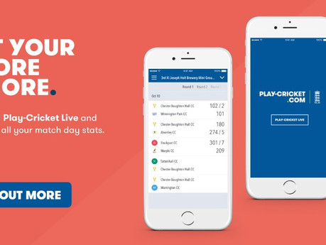 Latest update to the Play-Cricket Scoring Software
