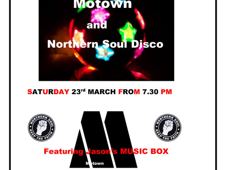 Join us at our Motown night