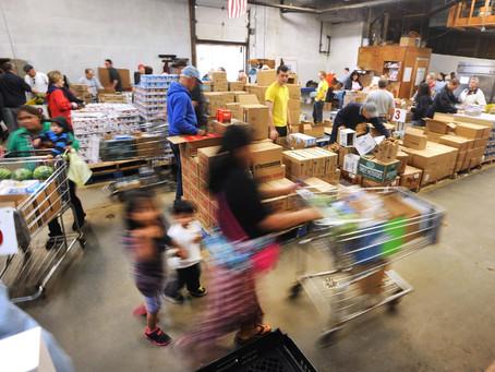 Giving Tuesday--Feeding Our Neighbors