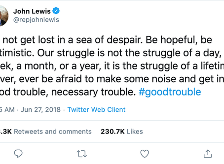 John Lewis Showed Us What to Do