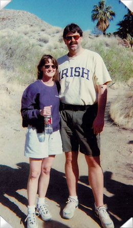 Karen and Tom in Tucson