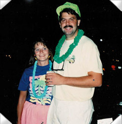 Karen and Tom at Jimmy Buffet