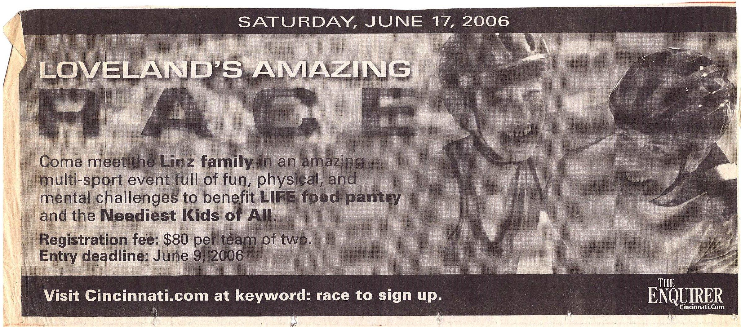 2006 Enquirer Ad