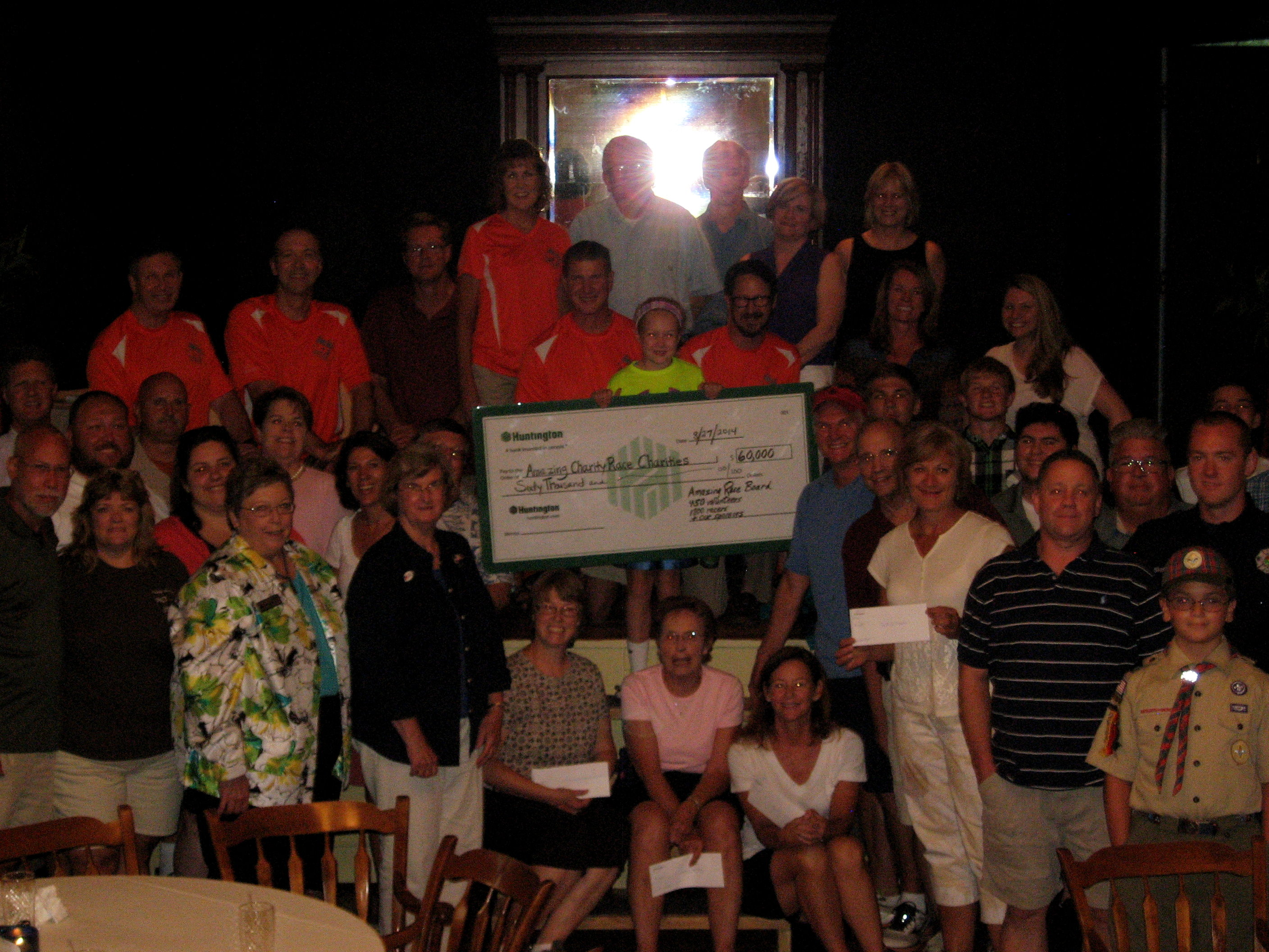 Amazing Charity Race Grant 2014 Group