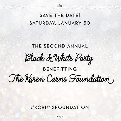 Black & White Party Ticket