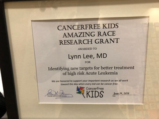 Cancer Free Kids Research Grant