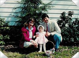 Karen, Tom and Katie Easter