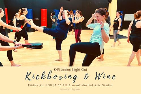 Kickboxing & Wine