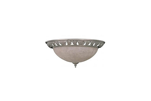 Y-240A-ST Two Light Ceiling Kit Stainless Steel Finish
