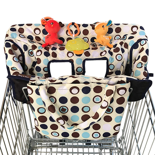 Croc n frog 2-in-1 Shopping Cart Covers(MEDIUM SIZE)