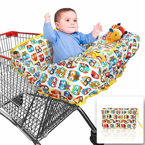 Croc n frog 2-in-1 Shopping Cart Covers(LARGE)