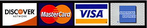 We accept all major credit cards for deposit and payment,