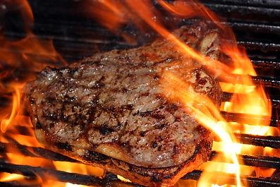 Enjoy a BBQ steak dinner while fishing Toronto island,