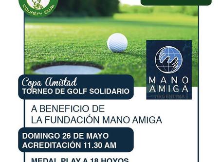 COPA AMISTAD EN LOS LAGARTOS COUNTRY CLUB A BENEFICIO DE MANO AMIGA