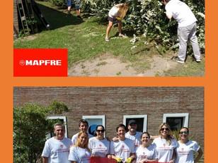 Voluntariado Corporativo de MAPFRE en Mano Amiga. Otro jornada solidaria