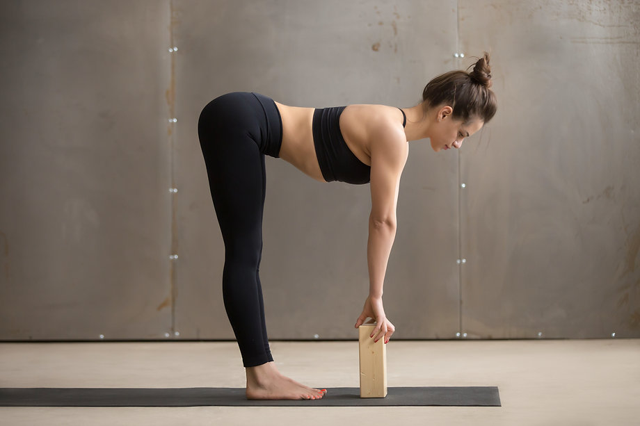 Young attractive yogi woman practicing y