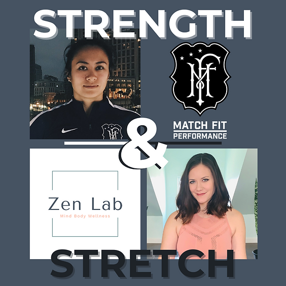 Strength & Stretch with Dr. Rena and Kristen