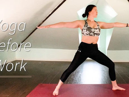Quick Yoga Routine To Do Before Work For Focus and Energy