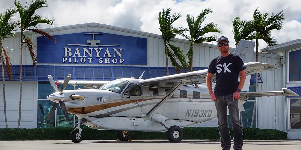 S1K BOSE Aviation MEET UP at the Banyan Pilot Shop!