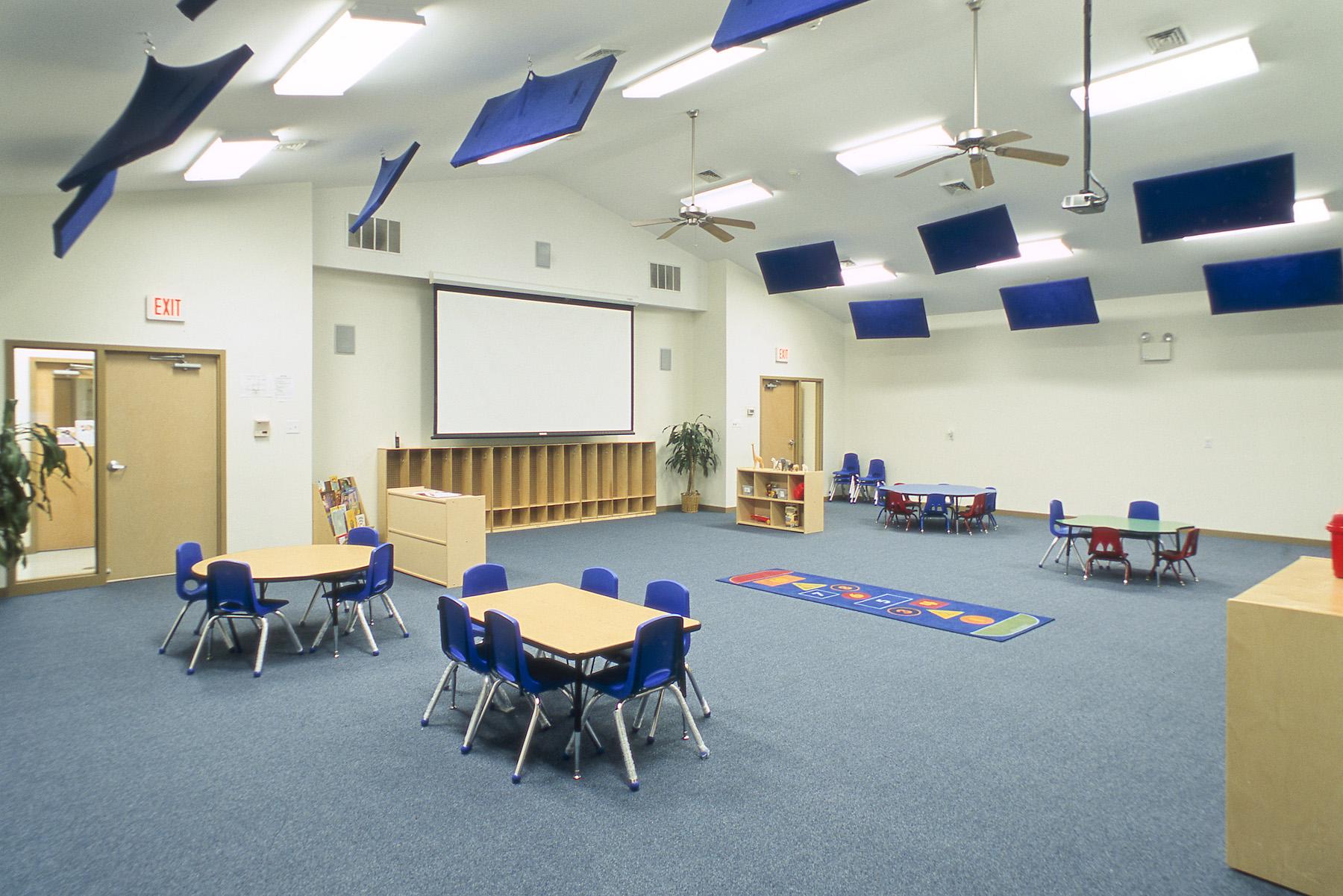 Large Media Room