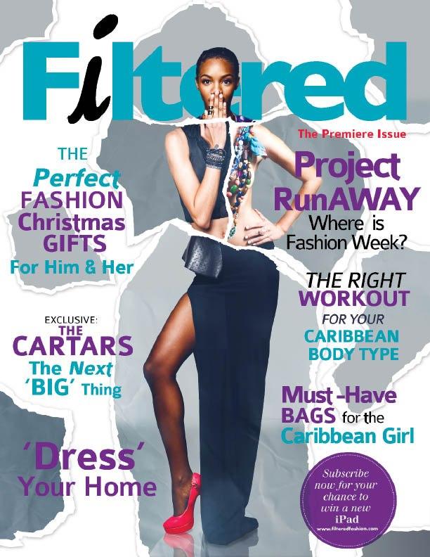 Filtered Fashion Magazine Cover