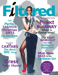 Filtered Fashion Magazine Cover