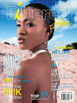 Filtered Fashion Mag 3rd Issue Cover