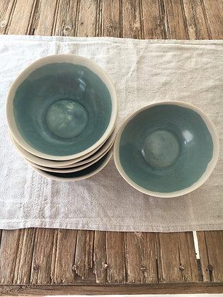 Bol porcelana Azul