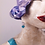 Thumbnail: Pendientes porcelana bola