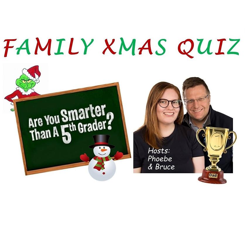 Family Xmas Charity Quiz Night