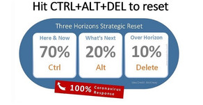Hit CTRL+ALT+DEL to reset