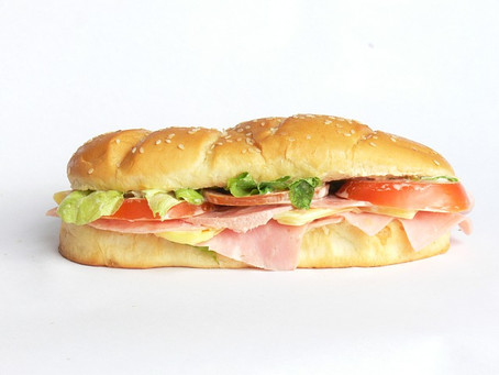 One sandwich please, hold the bad news.
