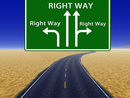 Go right. No, go left. No, go straight. But don't stay put.