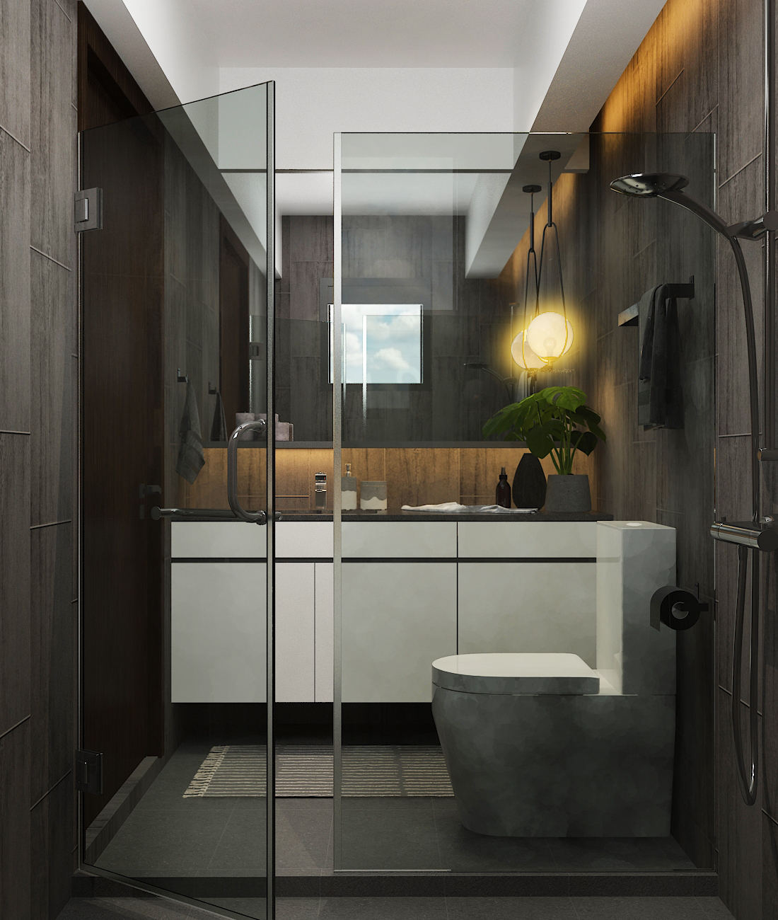 Master Bathroom 01