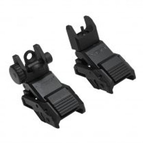 VISM® by NcSTAR® PRO SERIES FLIP-UP FRONT AND REAR SIGHTS (COMBO)