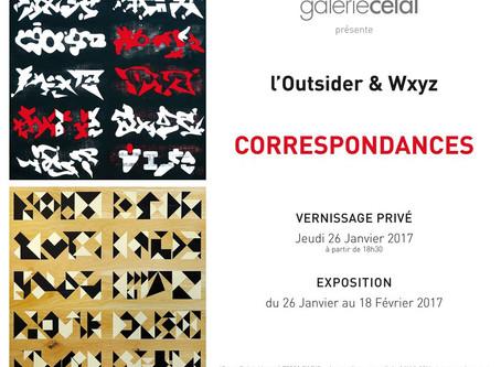 """""""Correspondances"""" à la Galerie Celal"""