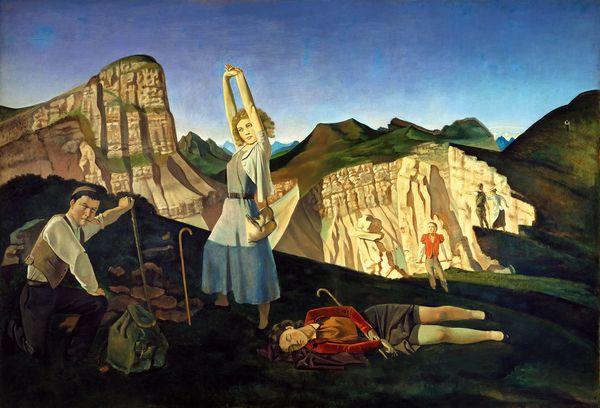 La Montagne, de Balthus.