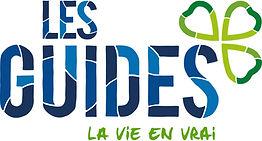 Logo Guides la vie en vrai - Couleurs -