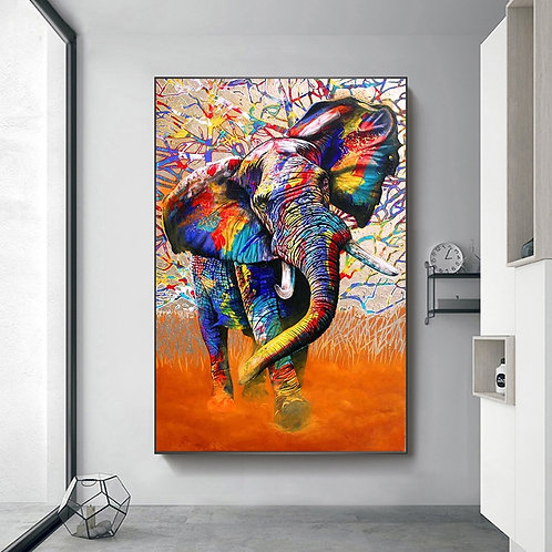 Elephant Canvas Printings Painting
