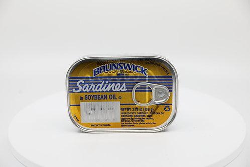 BRUNSWICK SARDINES SOY BEAN