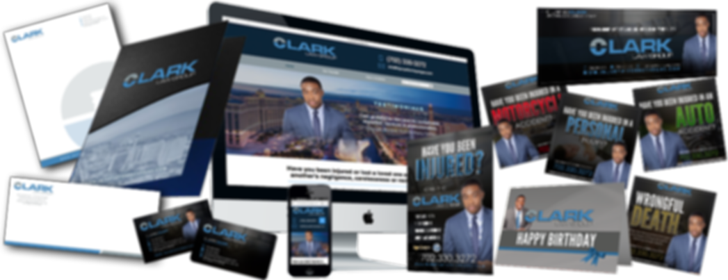 Marketing Collateral designed for Jared Clark