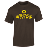 Black Spade - Male Shirt 1 - Chocolate .